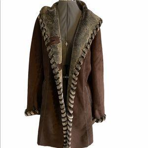Faux suede jacket by Jones New York